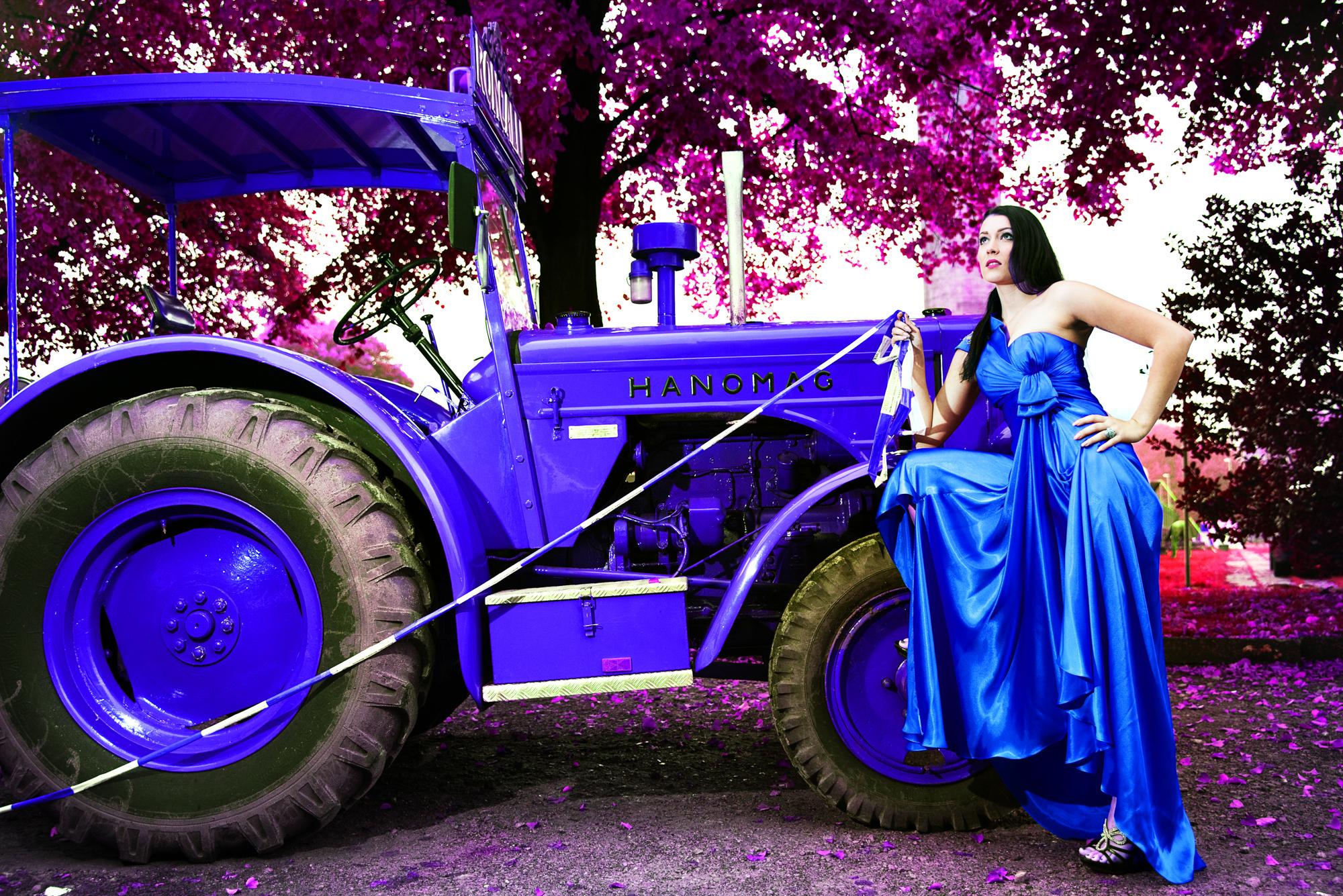 Traktor Fotoshooting